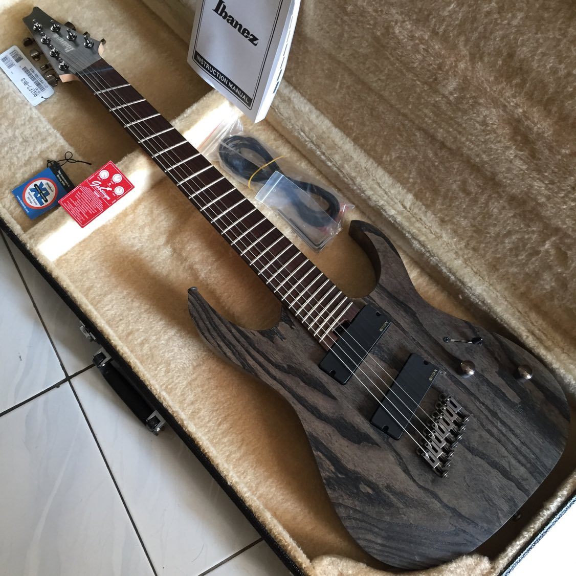 This is a picture of Nerdy Ibanez Iron Label Rgif7